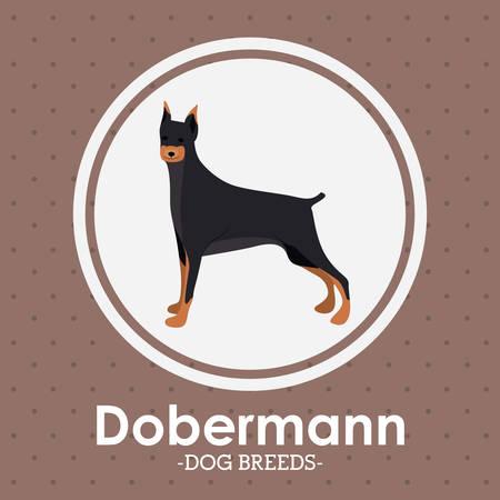 trusting: Pets Love design over purple background, vector illustration