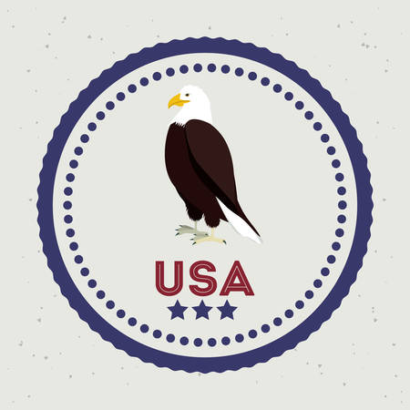 3780 American Eagle Emblem Stock Illustrations Cliparts And