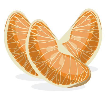 illustratio: Healthy food design over white background, vector illustratio,