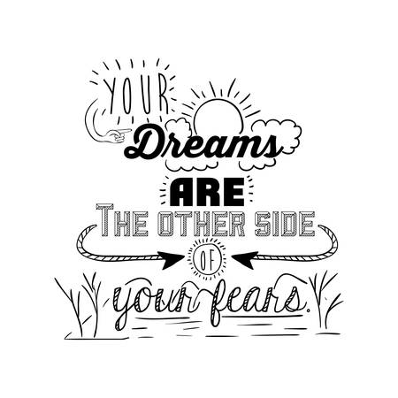 quotes: encourage quotes design, over white background, vector illustration