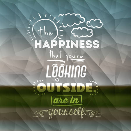 encourage: encourage quotes design, over  colorful background, vector illustration
