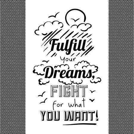 encouragement: encourage quotes design, over white background, vector illustration