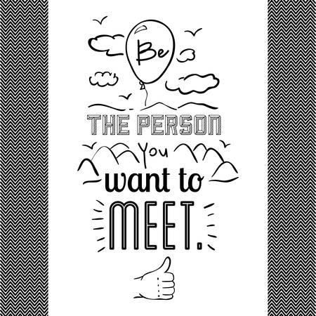 encourage: encourage quotes design, over white background, vector illustration
