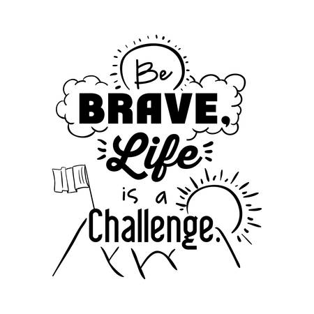 encouragements: encourage quotes design, over white background, vector illustration
