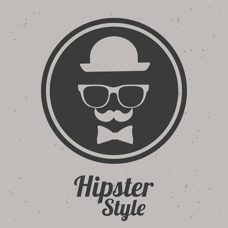 hipster style: Hipster style design, vector illustration eps 10 Illustration