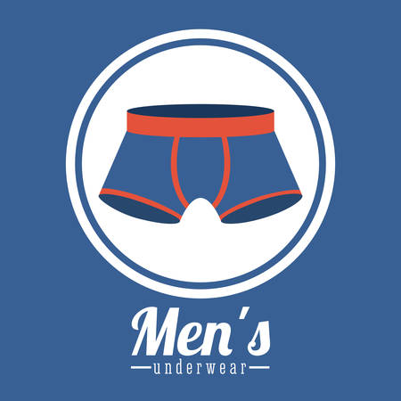 men's: Underwear digital design, vector illustration eps 10
