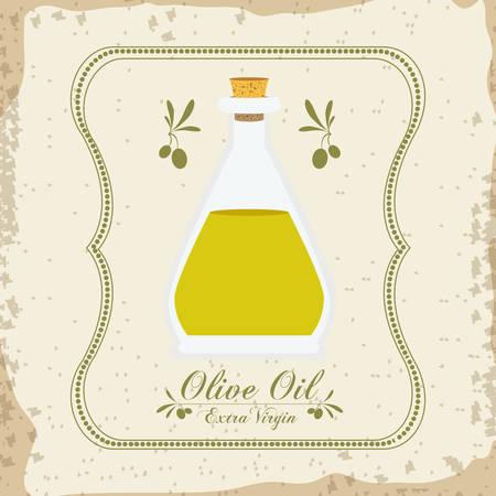 alimentation: Olive Oil digital design, vector illustration eps 10