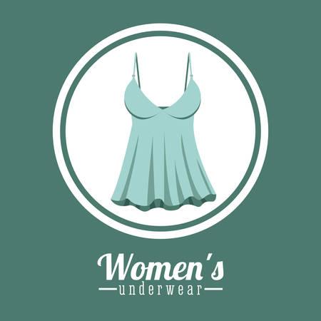 ropa interior: Dise�o digital de la ropa interior, ilustraci�n vectorial eps 10