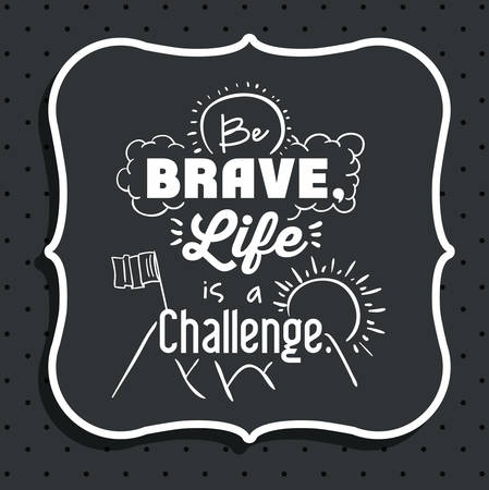 encourage: encourage quotes digital design, vector illustration eps 10