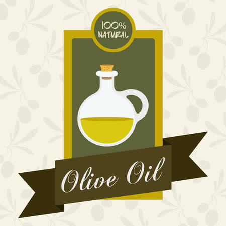 alimentation: Olive Oil digital design, vector illustration eps 10