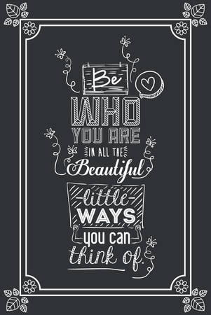 encourage quotes digital design, vector illustration eps 10