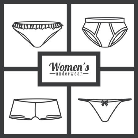 slip homme: conception numérique Underwear, illustration vectorielle eps 10