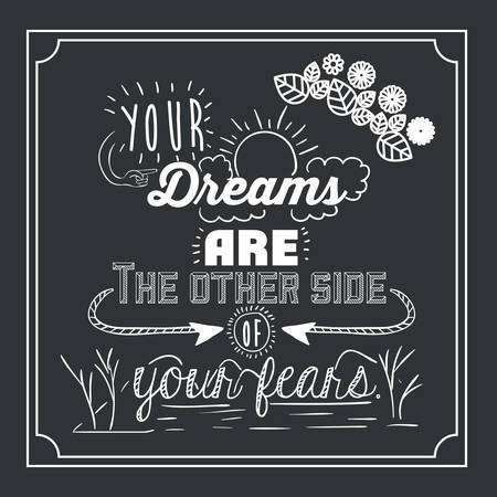 encouragements: encourage quotes digital design, vector illustration eps 10