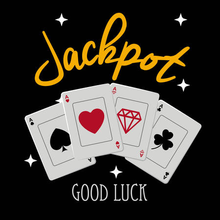jackpot: Jackpot digital design, vector illustration