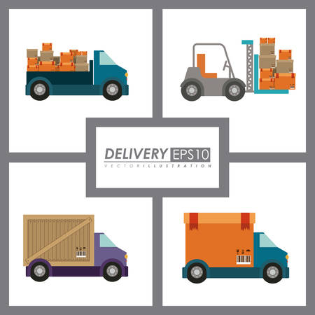 inventory: Icon digital design, vector illustration eps 10 Illustration
