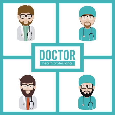 mentors: Doctor digital design, vector illustration eps 10