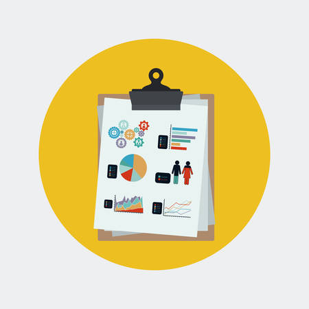 offshoring: Outsourcing icons digital design, vector illustration  Illustration