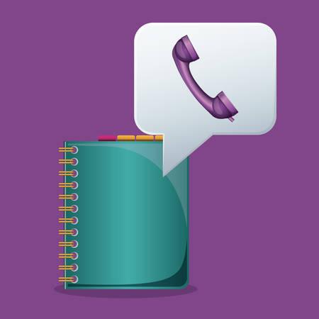adress: Social Media digital design, vector illustration