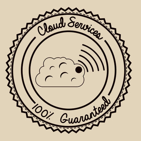 contracting: Outsourcing icons digital design, vector illustration  Illustration