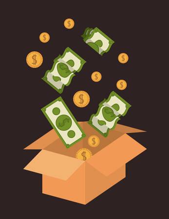 funding: Funding digital design, vector illustration eps 10