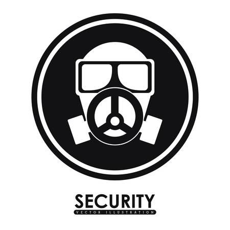 dangerous ideas: Security System digital design, vector illustration eps 10 Illustration