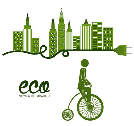 Bike lifestyle  digital design, vector illustration eps 10