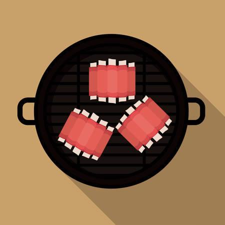 c�telette de porc: conception num�rique alimentaire
