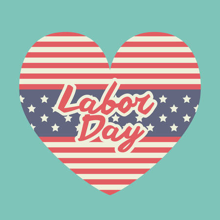 day to day: Labor day digital design, vector illustration eps 10