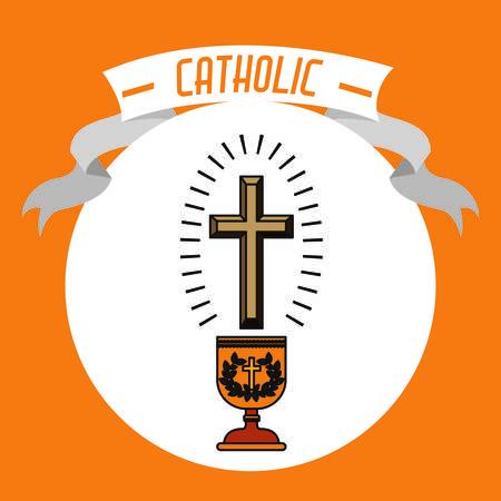 sanctuaries: Catholic digital design, vector illustration eps 10