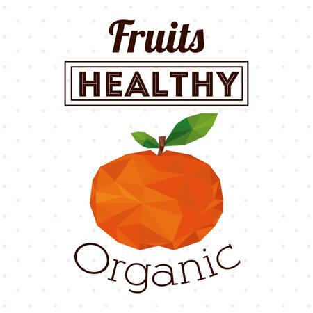 market gardening: Organic food design, vector illustration eps 10