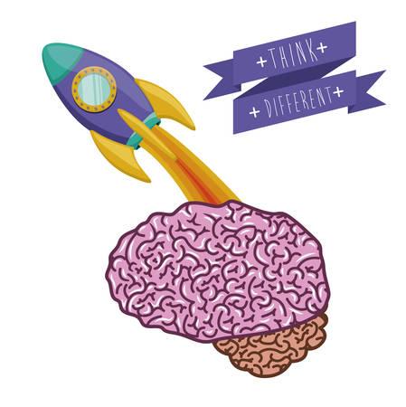 think different: Think different  digital design Illustration