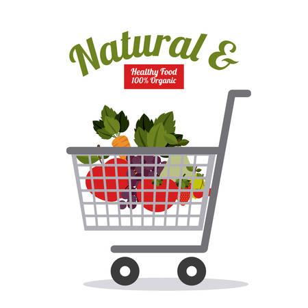 comida sana: Dise�o digital La comida sana