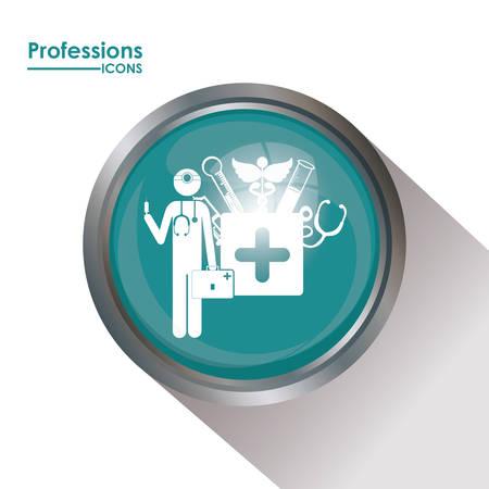 professions: Profesiones dise�o digital Vectores