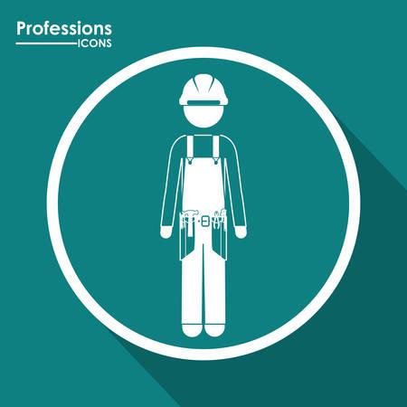 professions lib�rales: Professions digital design, vector illustration