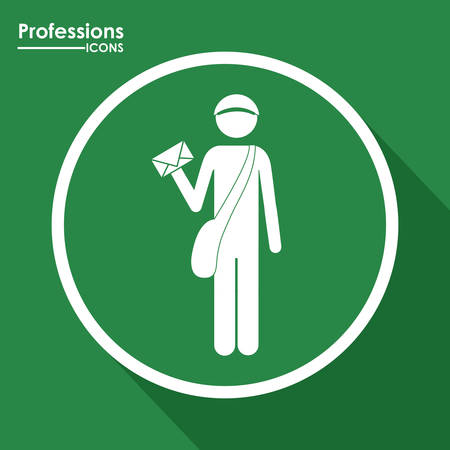 Professions digital design Illustration