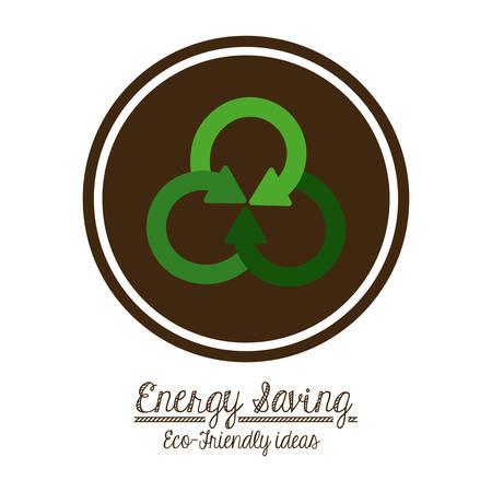 energy icon: Energy Saving digital design, vector illustration eps 10