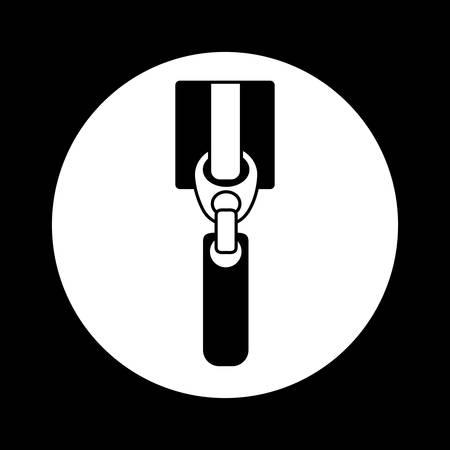 unzip: Zipper digital design, vector illustration eps 10 Illustration