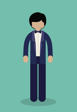 businesspeople: Businesspeople digital design, vector illustration   Illustration