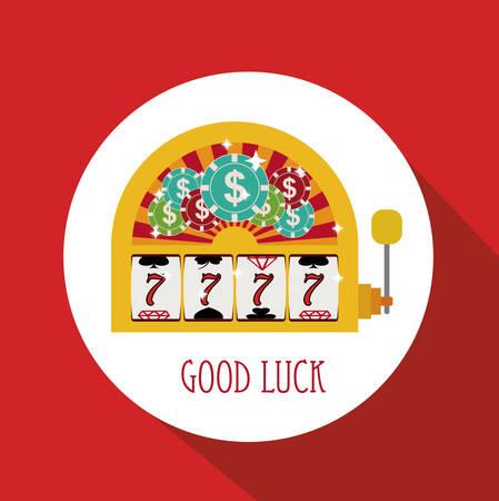 jackpot: Jackpot digital design, vector illustration   Illustration