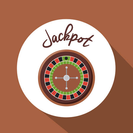 losing money: Jackpot digital design, vector illustration   Illustration