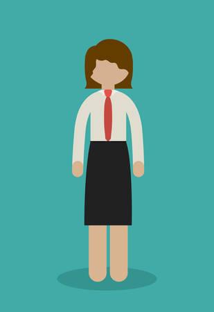 businesspeople: Businesspeople digital design, vector illustration