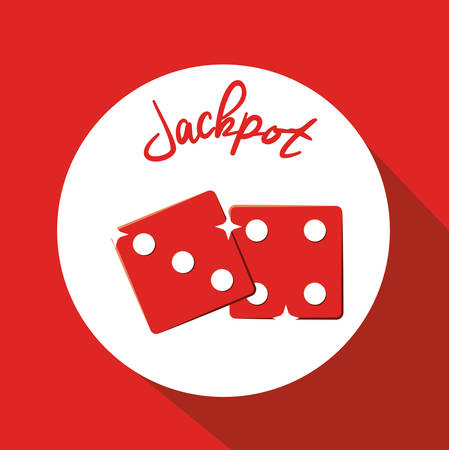 jackpot: Jackpot digital design, vector illustration   Illustration