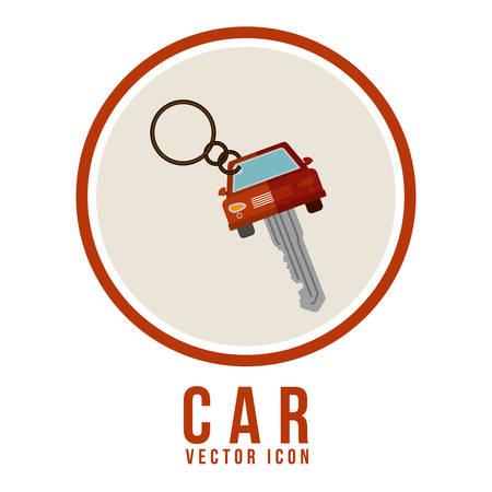 automobile dealer: Transportation  digital design, vector illustration