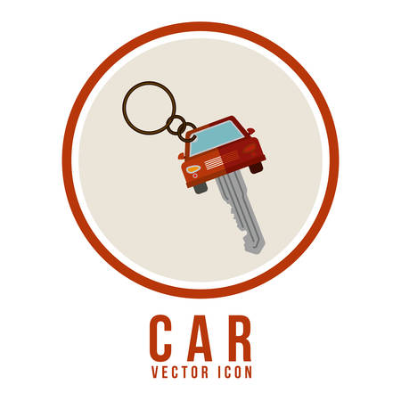 rent car: Transportation  digital design, vector illustration