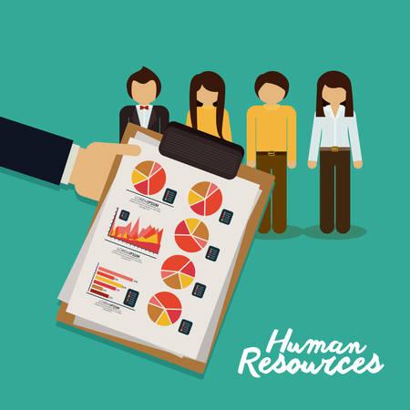 recursos humanos: Diseño de los recursos humanos Vectores