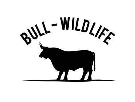 toro: Dise�o digital Bull, ilustraci�n vectorial eps 10