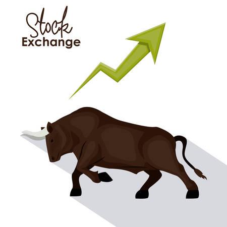fund world: Stock Exchange digital design, vector illustration eps 10