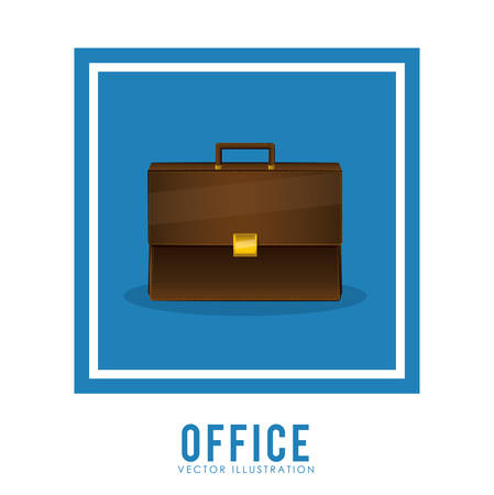 stuff: Office stuff digital design, vector illustration eps 10