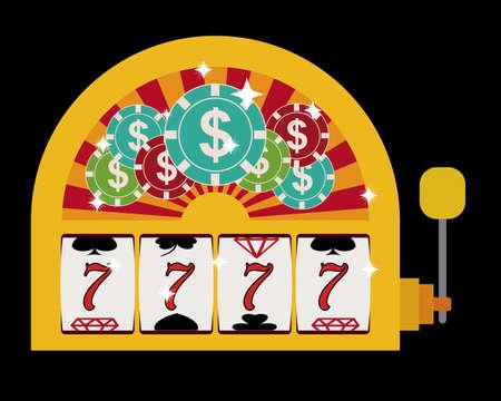 jackpot: Jackpot digital design, vector illustration eps 10
