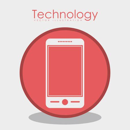 gadget: Technology concept about gadget design  Illustration